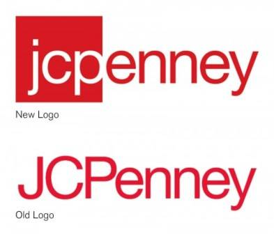 New and old JC Penney logos