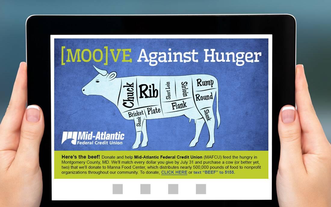 MAFCU [Moo]ve Against Hunger
