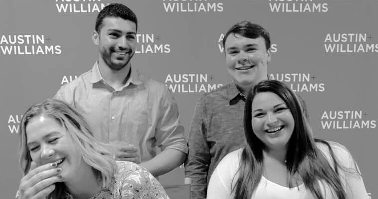 4 Austin & Williams summer interns