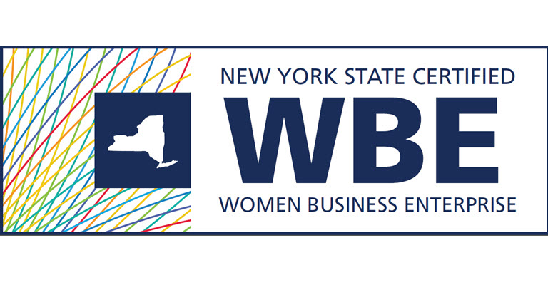 New York State WBE certification logo