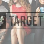"Group of Millennials with ""#Target"" over them as illustration"