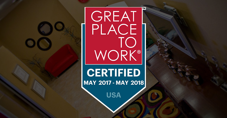 Certified Great Place to Work logo