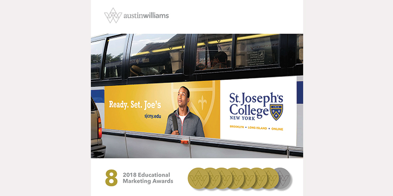 Austin Williams Grabs Gold Seven Times Over at 33rd Annual Educational Advertising Awards