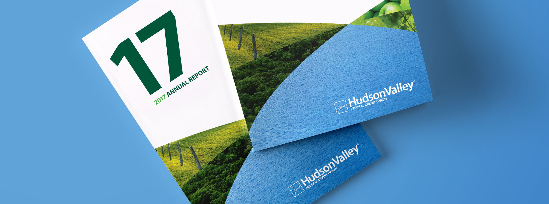Hudson Valley Federal Credit Union 2017 Annual Report Cover