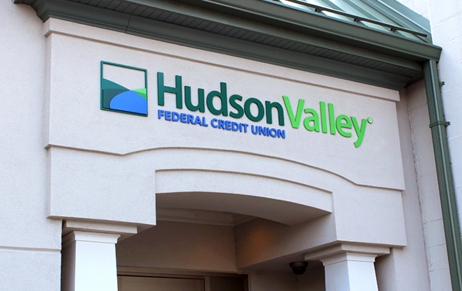 Hudson Valley Federal Credit Union Branch Image showing Logo
