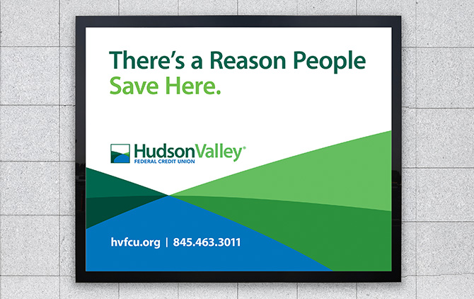 Hudson Valley Federal Credit Union Outdoor Billboard