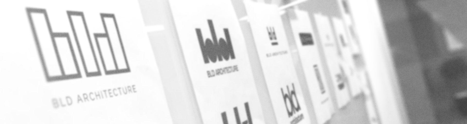 BLD Architecture logo concepts