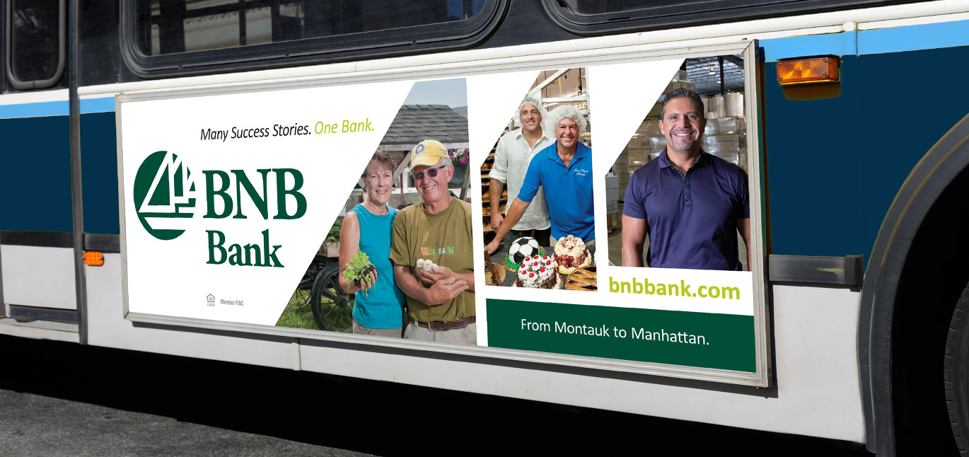 BNB Bank Out Of Home Bus Billboard