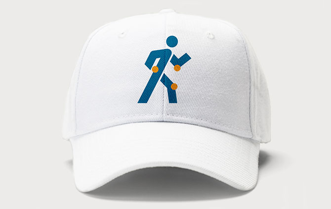 Orlin & Cohen logo mark on baseball hat