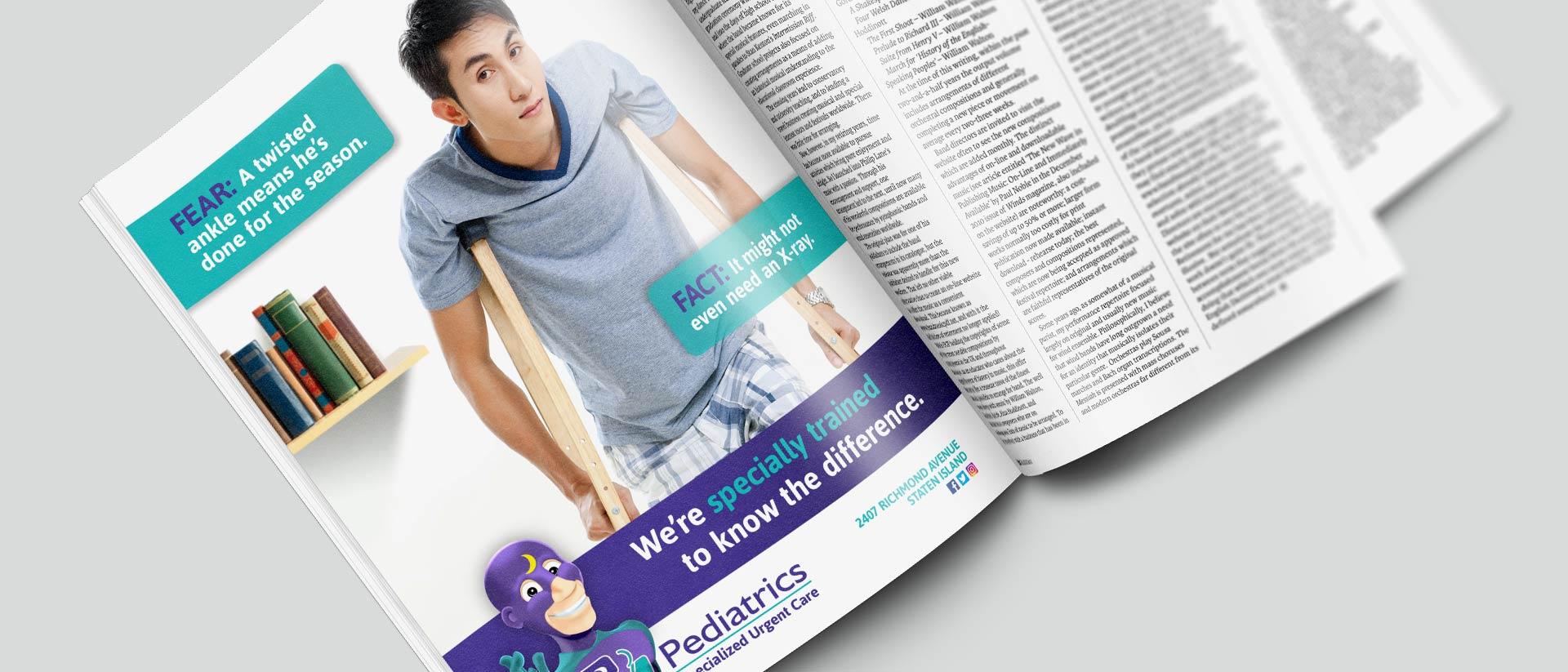 PM Pediatrics Fear Fact Campaign Ad - No Xray