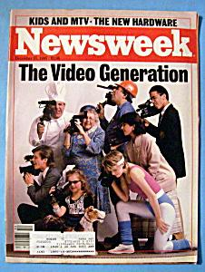 newsweek cover The Video Generation