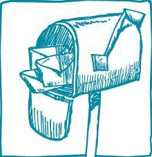 mailbox drawing
