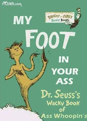 dr seuss foot