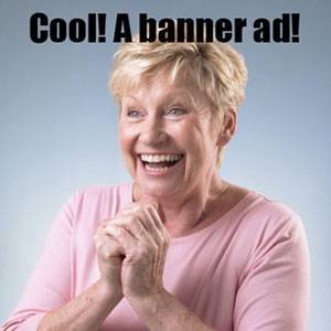 cool a banner ad