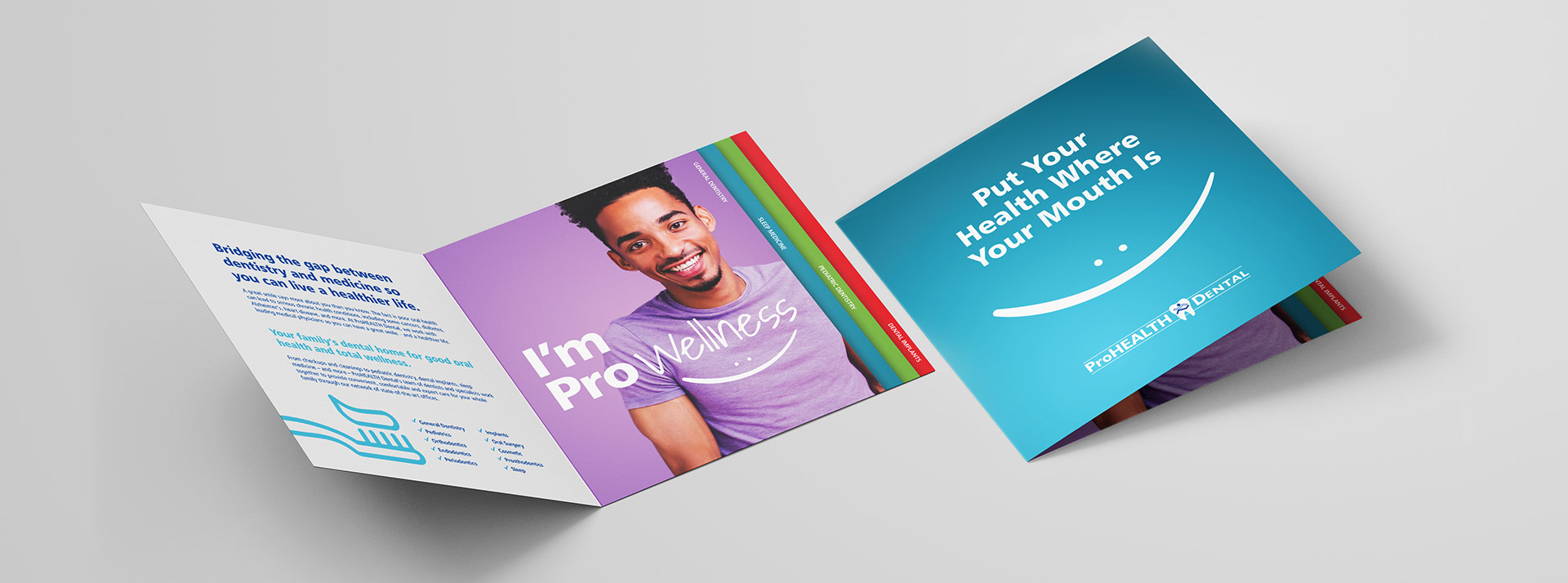 ProHEALTH Dental Brochure Designed by New York Digital Marketing Agency Austin Williams