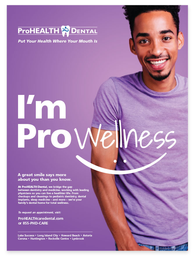 ProHEALTH Print Ads Rebranding designed by Austin Williams, a New York Digital Marketing Agency