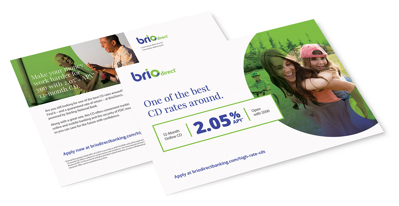 BrioDirect Bank Case Study by Austin Williams a New York Digital Marketing Agency