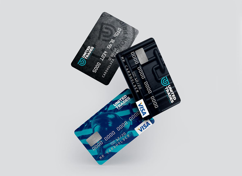 UTFCU Credit Card Designs by Austin Williams a New York Digital Marketing Agency