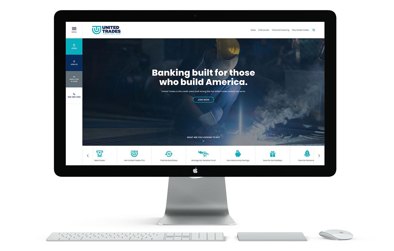 UTFCU Website Redesign by Austin Williams a New York Digital Marketing Agency