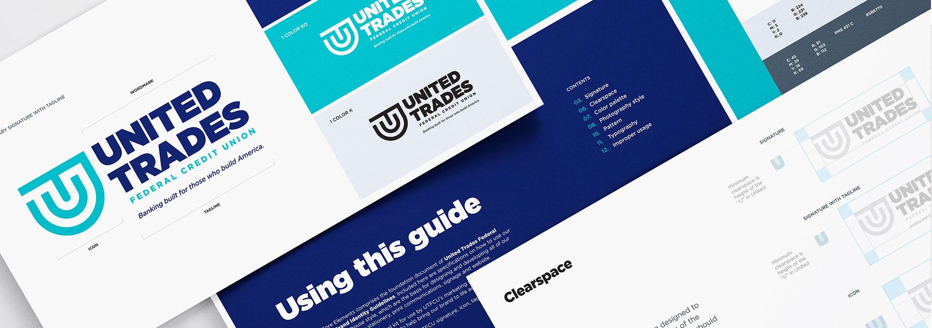 United Trades Federal Credit Union Rebranding by Austin Williams a New York Digital Marketing Agency