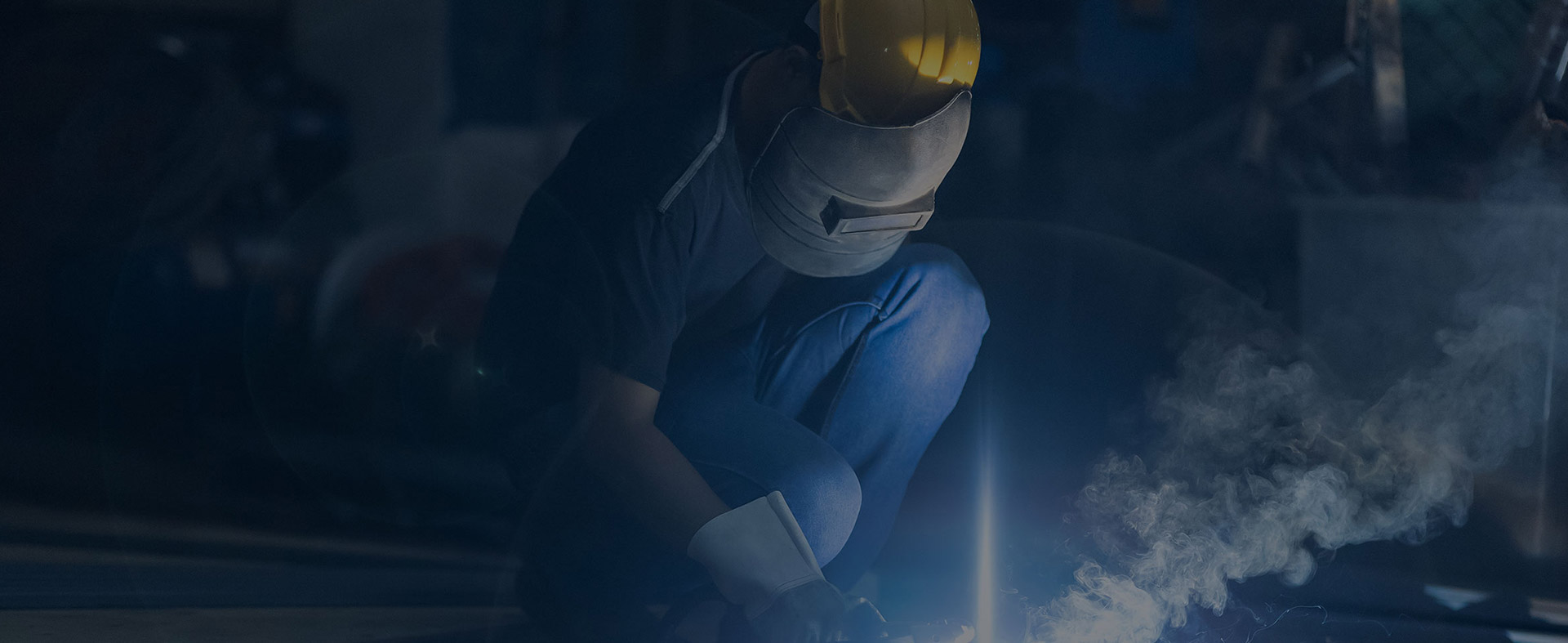 Blue Collar Trade Worker Welding Advertisement by Austin Williams a New York Digital Marketing Agency