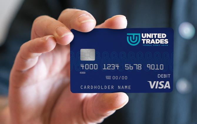 United Trades FCU Credit Card Design by Austin Williams a New York Digital Marketing Agency